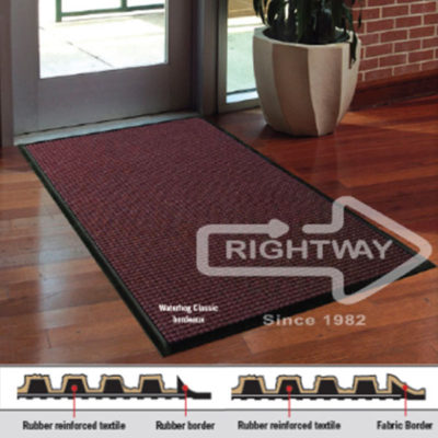 Logo Mats By Rightway Customized Mats With A Wow Factor